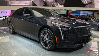 2019 Cadillac CT6 V-Sport 4.2TT – Redline: First Look – 2018 NYIAS