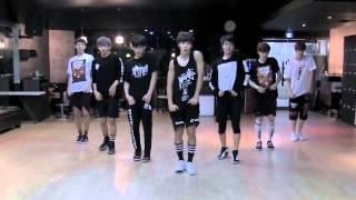 BTS N O mirrored Dance Practice
