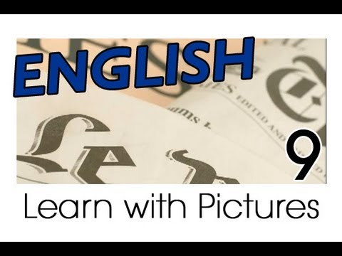 Learn English - English Bookstore Vocabulary