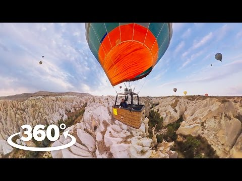Hot Air Balloon Cappadocia VR / 360° Video Experience