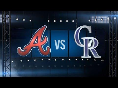 7/21/16: Bettis, CarGo lift Rox over Braves