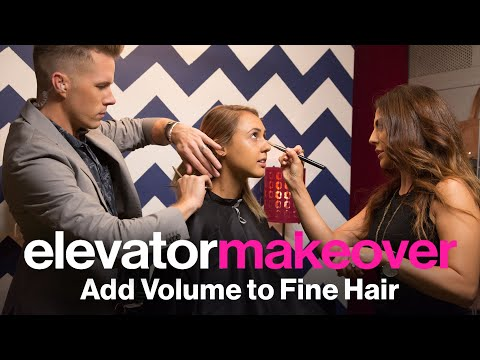 The Best Haircut for Fine Hair—Glamour's Elevator Makeover