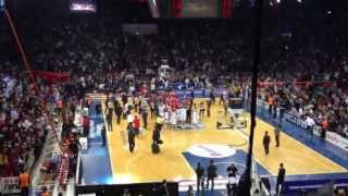 Anadolu Efes 74 - Olympiakos 73 - Last  1.9 Seconds (19.04.2013) Euroleague