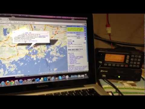 Using aprs.fi with D-Star Icom ID-1