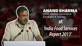 Anand Sharma  Union Minister Commerce