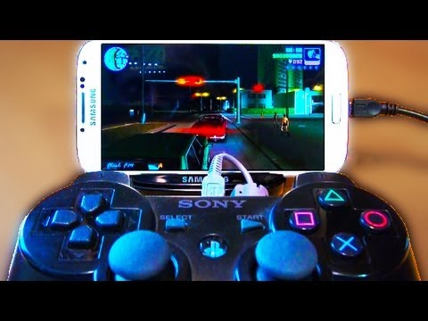 Samsung Galaxy S4 IV PS3 Controller Connectivity Test