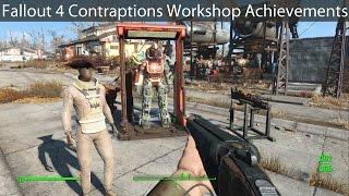 Fallout 4: Contraptions Workshop Achievements Guide & Items Show-Off