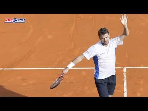 "Tennis / Monte-Carlo - Wawrinka : ""Des émotions incroyables"" 20/04"