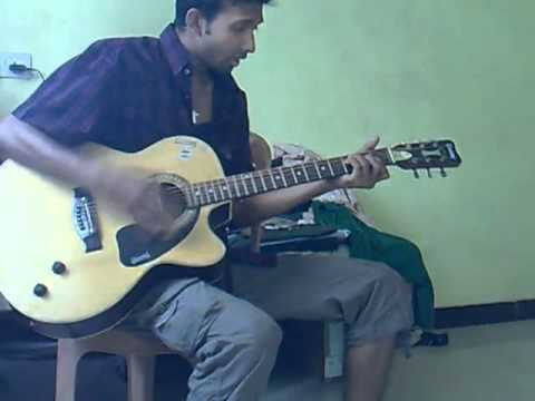 O re Piya acoustic Guitar Cover  by Atif  Album Doorie