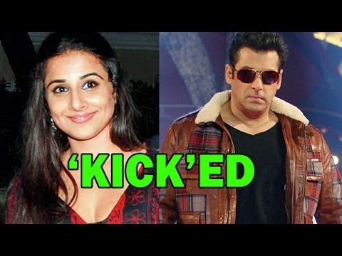 Vidya Balan 'kick'ed! | Bollywood News video