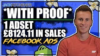 *With Proof* £8124.11 With Facebook Ads | Shopify Dropshipping
