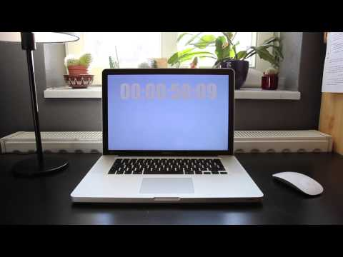Samsung SSD 840 Pro vs Seagate HDD Boot Test MacBookPro