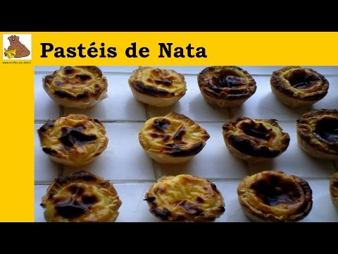 Pastéis De Nata (receita Fácil) video