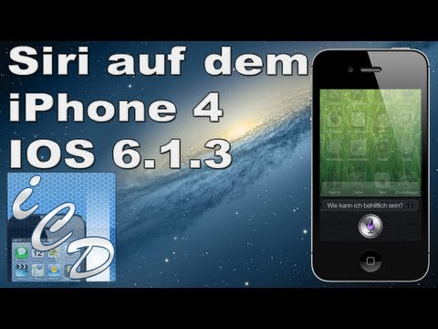 Siri auf dem iPhone 4, 3GS und iPad 2 (IOS 6.1.3 oder älter) mit Jailbreak - Tutorial