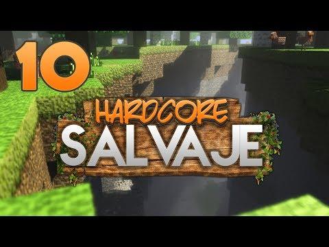 HARDCORE SALVAJE: ARAÑAS A PIÑÓN!! | Episodio 10 | MINECRAFT MODS SERIE