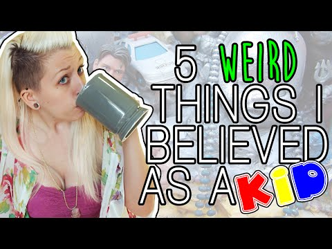 5 WEIRD THINGS I BELIEVED AS A KID | Coffee Date Vlog