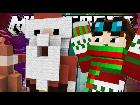 Minecraft | CHUBBY SANTA!! | Build Battle Minigame