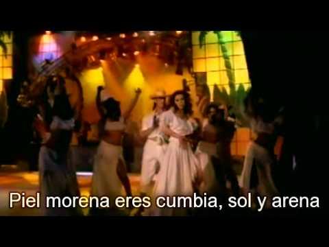 Thalia - Piel Morena HQ + Lyrics letras Legendas