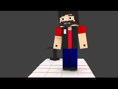 Minecraft - Animation rig test