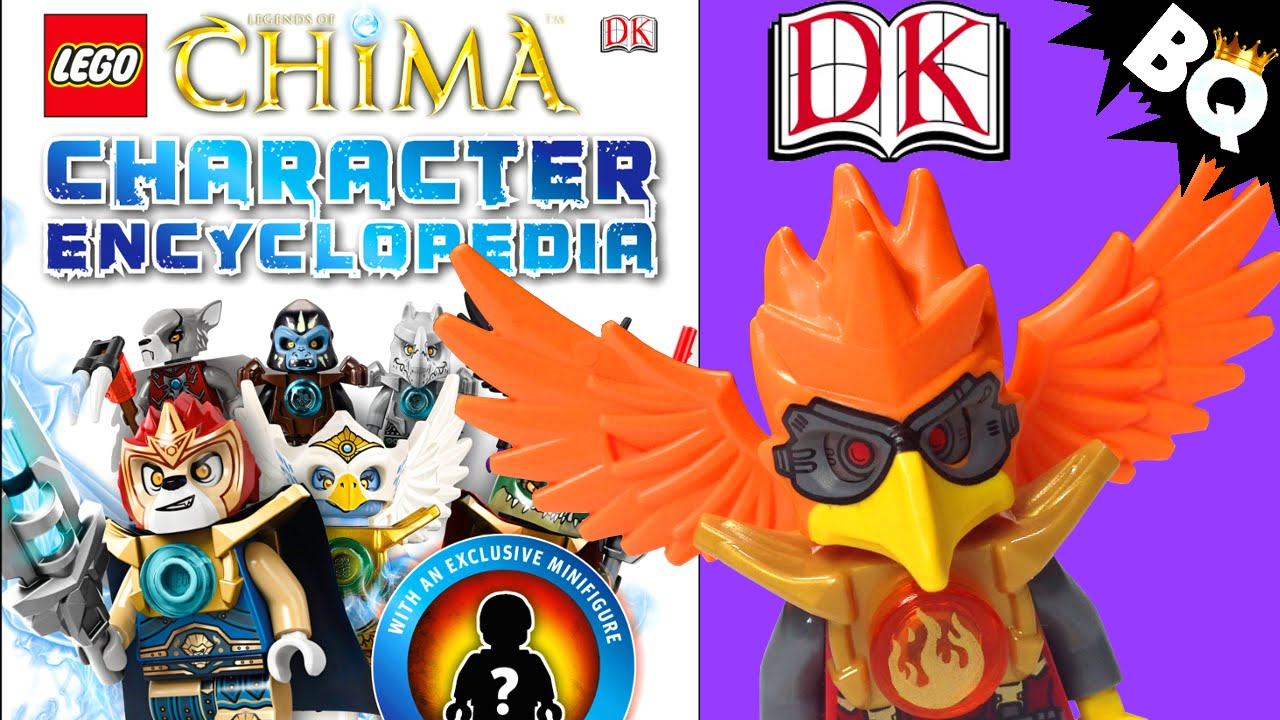 lego legends of chima character encyclopedia by dk