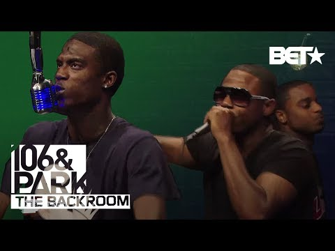 "Doug E. Fresh & Sons ""Square Off"" BET The Backroom Freestyle"