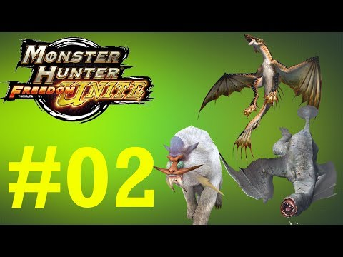 Monster Hunter Freedom Unite - Online Quests -- Part 2: Very Cold