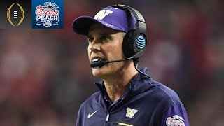 Chris Petersen Shares Impression Of Alabama | Peach Bowl Recap