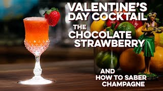 Valentine's Day Strawberry Cocktail | How to Drink