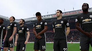Manchester Derby 2017- Manchester City vs Manchester United Full Match (Man UTD vs Man City FIFA 18)