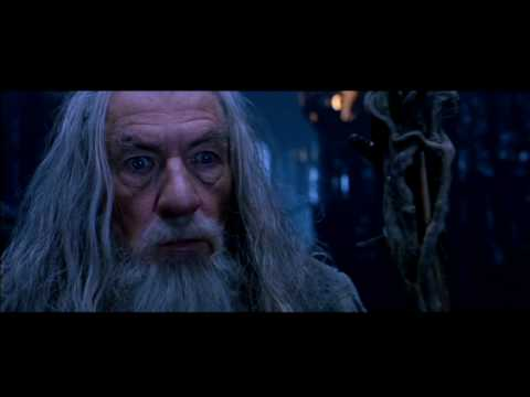Gandalf vs Saruman HD || Fight Scene from The Fellowship of the Ring