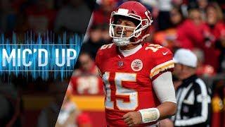 """Patrick Mahomes Mic'd Up vs. Cardinals """"Hey, ya'll got a hell of a defense!""""   NFL Films"""