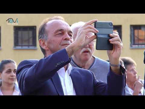 A Baglas Néptánc Együttes műsora a Szüreti Fesztiválon - Tavi TV