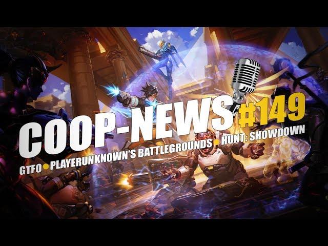 Coop-News #149 / Обновление Playerunknown's Battlegrounds, Кооперативный хоррор от создателей Payday, Hunt: Showdown будет на E3