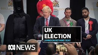 "Boris Johnson maintains his seat in UK election, vows to get ""get Brexit done"" 
