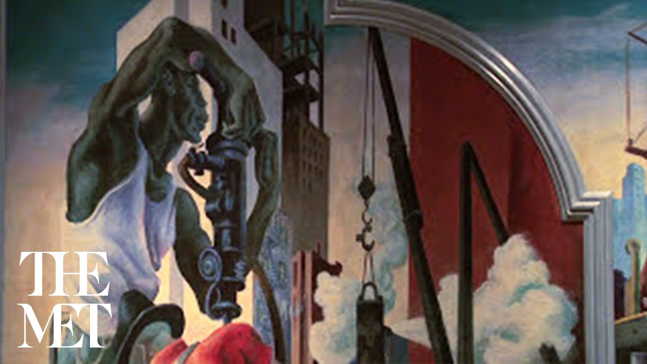 Metcollects episode 9 thomas hart benton 39 s mural america for America today mural