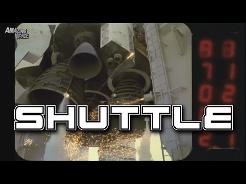NASA | Space Shuttle Launches Close Up View / High Speed Slow Motion footage