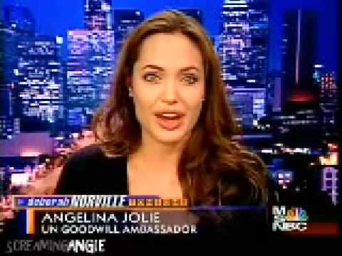 Angelina Jolie report to crisis in Sudan part1