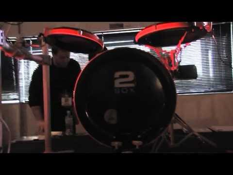 2BOX Drum It 5 MK2 at Australia's Ultimate Drummers Weekend 2010