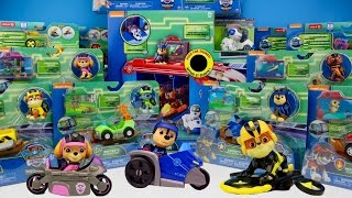 Paw Patrol Mission Paw NEW Toy Haul Pups and Cruiser Vehicles Unboxing Review