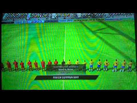 Parte 1: FIFA 10 - Brasil X Portugal - PS3 [Português-BR] 1ª Fase FIFA  World Cup South Africa