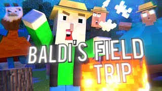 Baldi's Basics Field Trip - Minecraft Animation (Part 2)