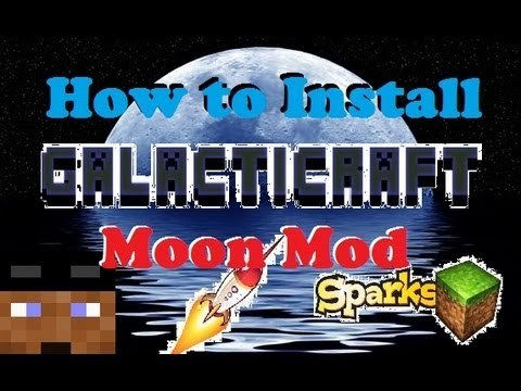(How to Install) ►Galacticraft Moon Mod◄ 1.5.1
