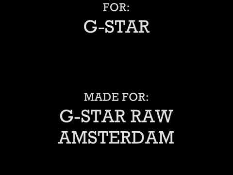 G-Star Raw Denim the trailer