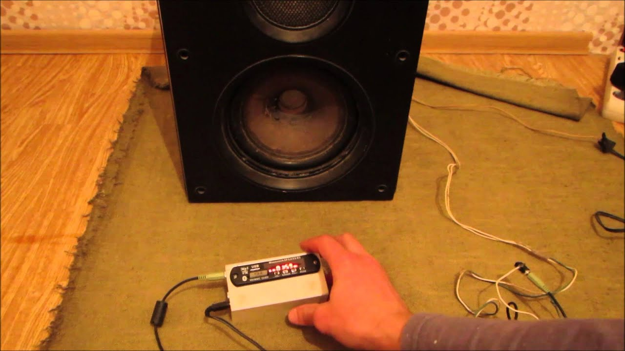 Изготовит акустику своими руками