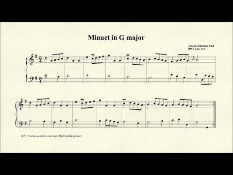 Бах Иоганн Себастьян - Bwv 114 Minuet In G Major