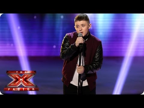 Nicholas McDonald sings Someone Like You by Adele - Live Week 6 - The X Factor 2013