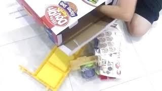 hộp kệ bếp đát sét pin làm thức ăn 8725
