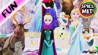 Disney FROZEN DIE EISKÖNIGIN ADVENTSKALENDER | Wir öffen alle 24 TÜRCHEN