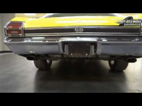 1969 Chevrolet Chevelle SS for sale at Gateway Classic Cars in St. Lou