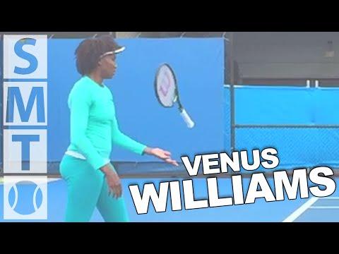 Venus Williams - Australian Open 2015 Super Slow Motion Forehand/Backhand Returns